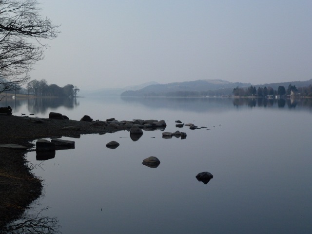 Coniston Water, from iPhone. Despite my fancy cameras, this is best photo of holiday!