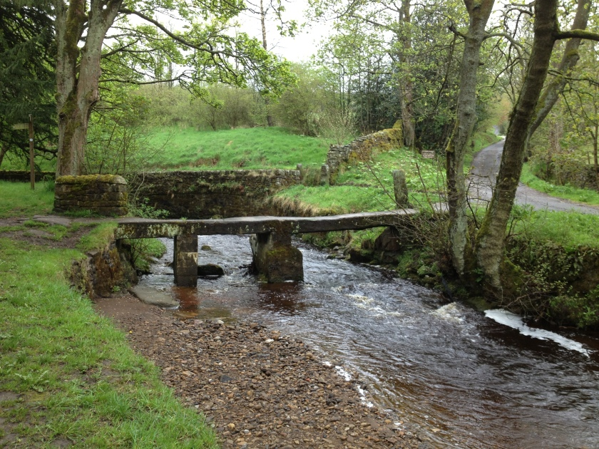 Wycoller clapper bridge