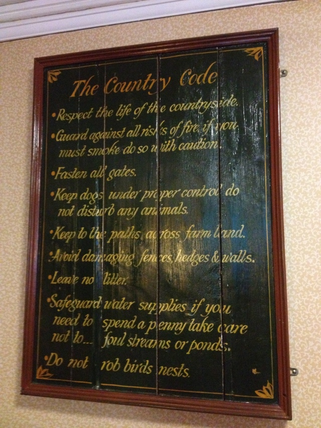 Countryside code