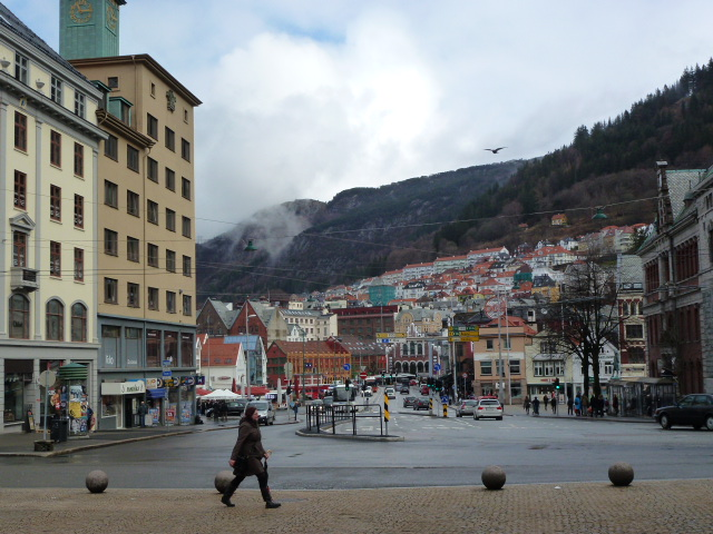 Bergen, I like this because of the pedestrian
