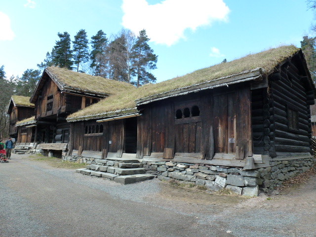 At the Norwegian Folk Museum