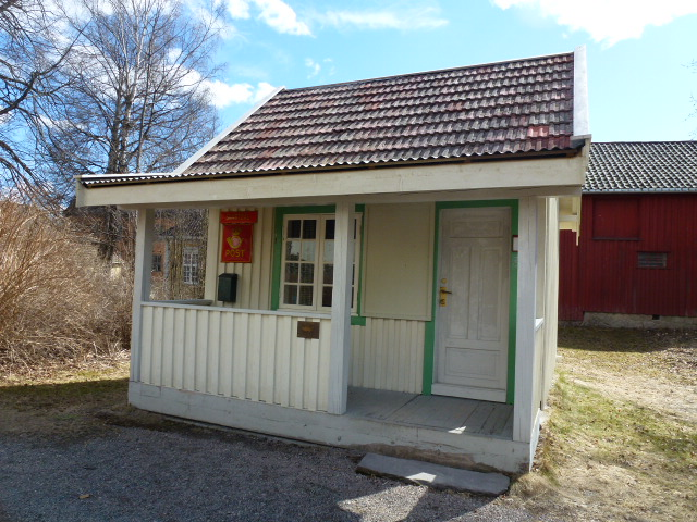 Post Office at the Norwegian Folk Museum