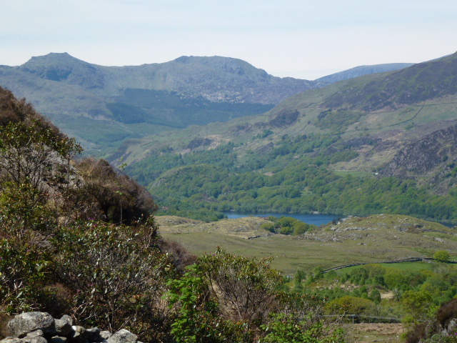 Towards Llyn Dinas