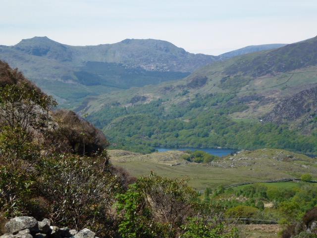 Towards Llyn Dinas