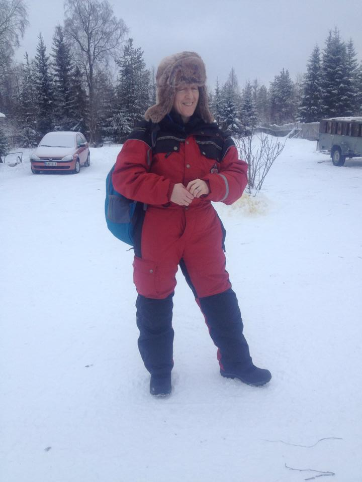 Lovely snowmobile outfit