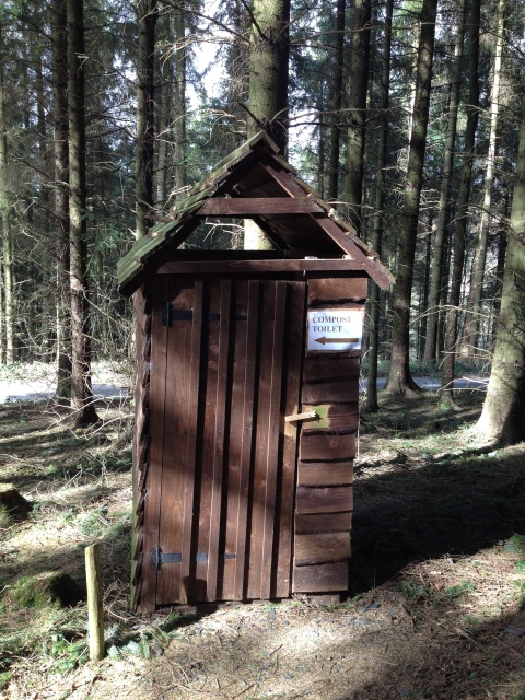 "Before I saw this hut from this angle I said ""if this was in Finland it would be a compost loo!"""