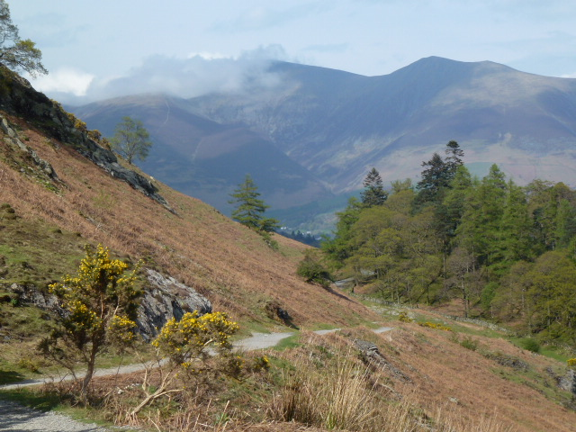 Towards Skiddaw from Catbells