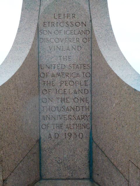 Leifur Eriksson found America first