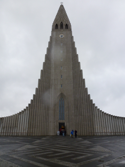 Concrete church, the Icelanders have been a bit too fond of concrete...