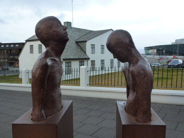 I liked the statuary