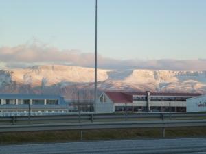 Mt. Esja from Artun