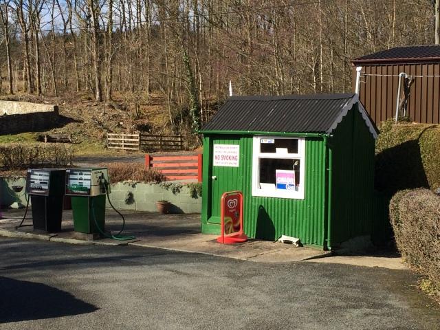 Garage at Pont Llogel