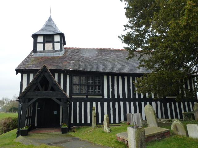 Melverley church