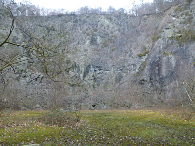 This is a small quarry.