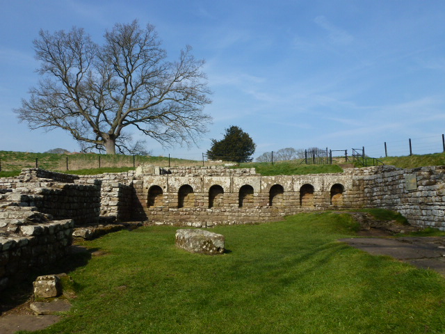 Bath house at Chesters