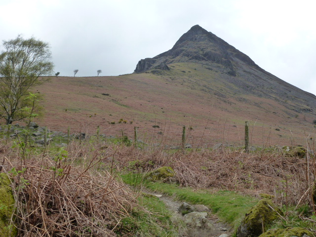 Yewbarrow looking very pointy