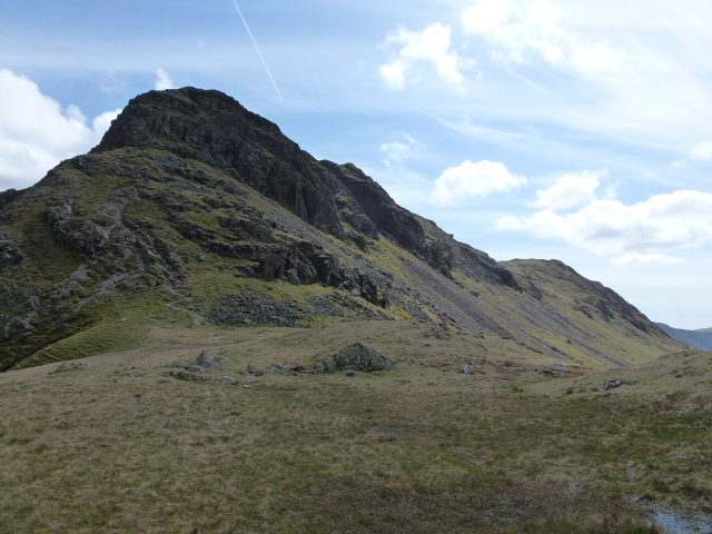 Stirrup Crag on Yewbarrow's north end