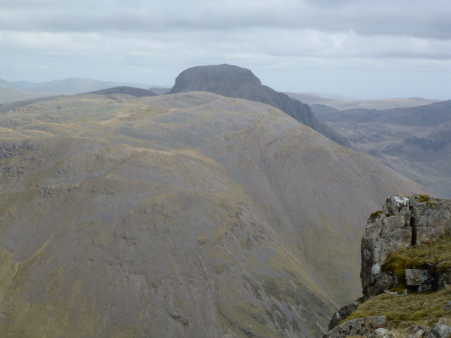 Great Gable looking very mysterious