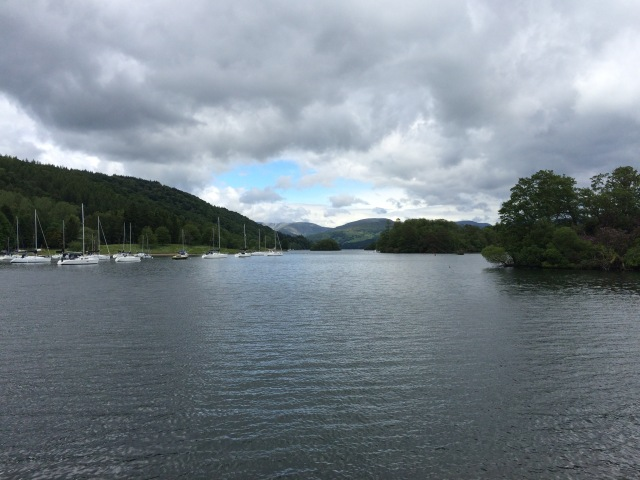 On Windermere looking south