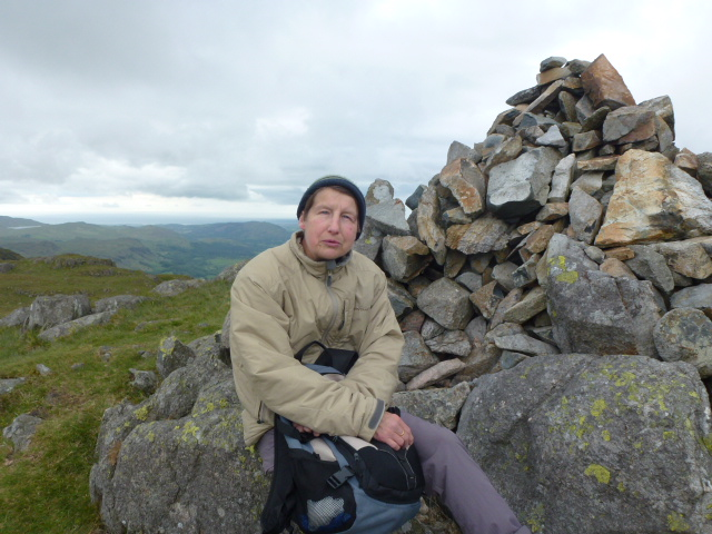 On top of Hardknott fell