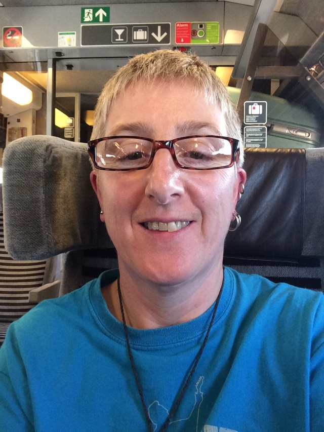 On the Eurostar