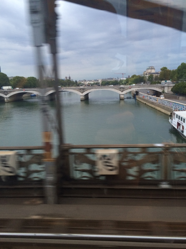 The Seine from the Metro