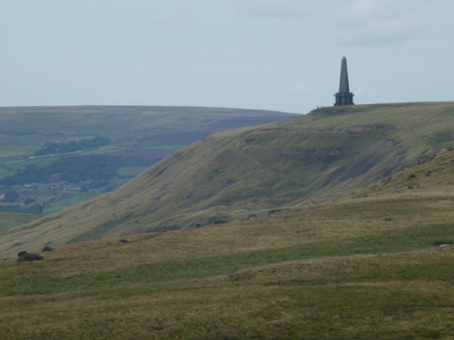 Stoodley Pike, last stretch