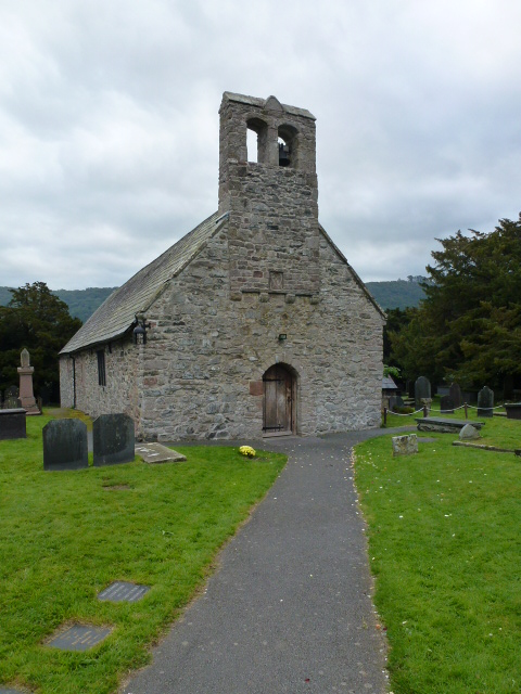 Church at Caerhun, sitting on the Roman fort