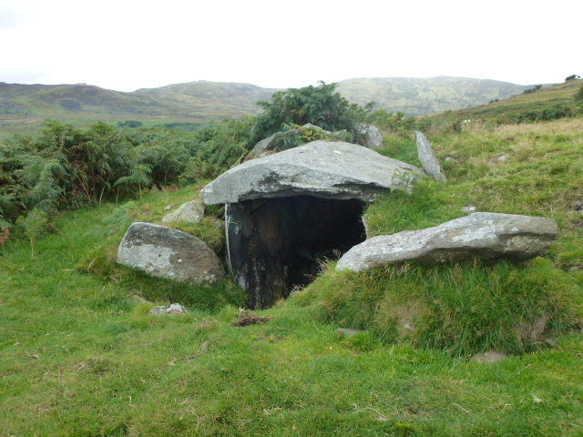 Burial chamber, marked on map as such