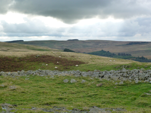 From a hill fort