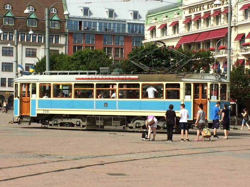Ye olde tram