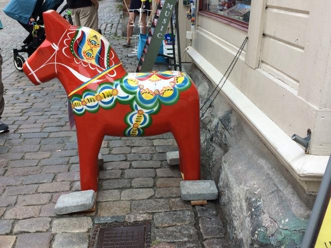 Big dala horse