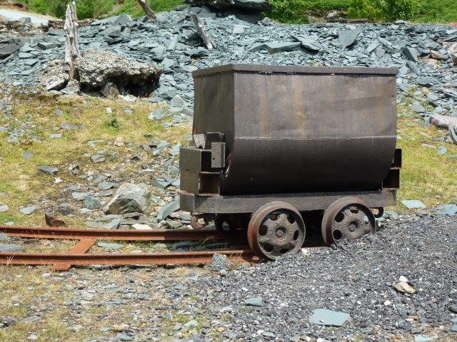Ye olde mining wagon