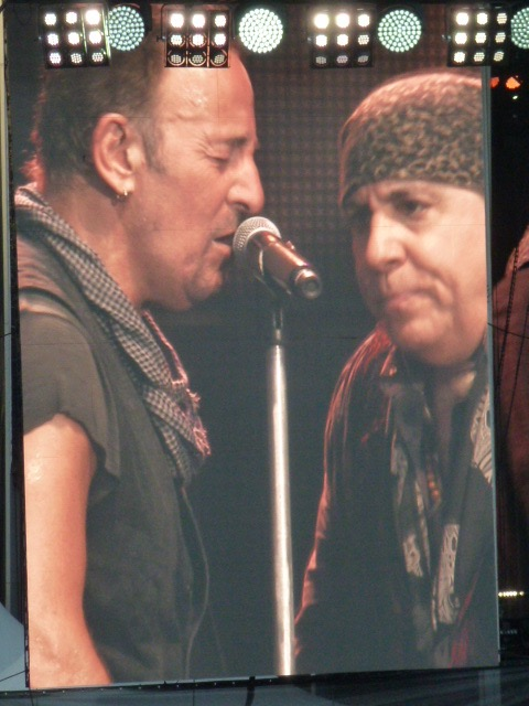 Bruce and Stevie