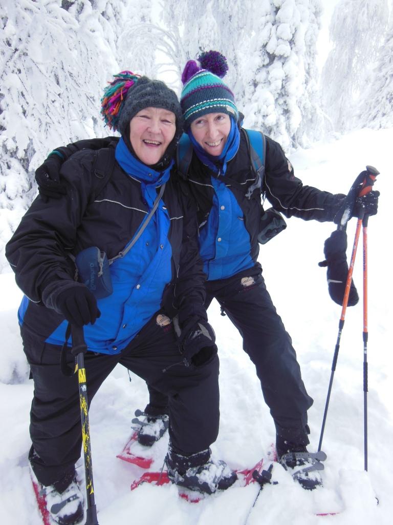 snowshoeing-at-riisintunturi